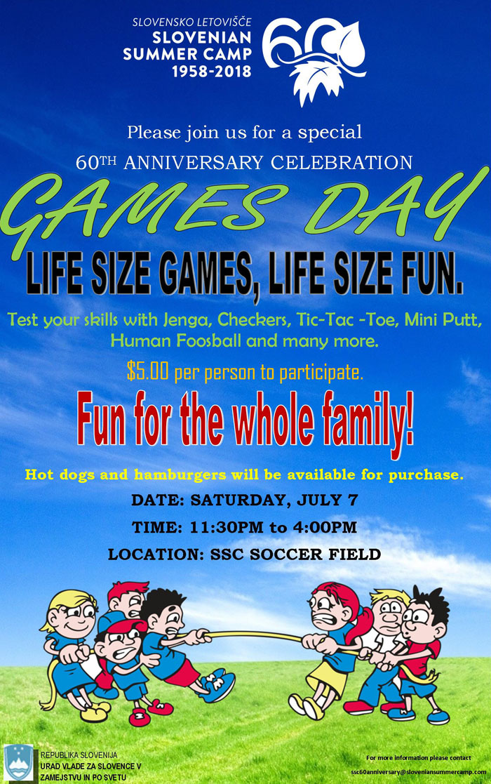 games day flyer